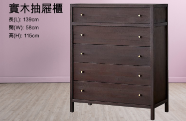 Salvation Army Treasure Map - Solid Wood Chest of Drawers (Sold out) (Chinese version only)